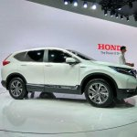 2017 Honda CR-V right side at Auto Shanghai 2017