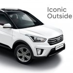 2017 Hyundai Creta front three quarters elevated view