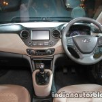 2017 Hyundai Xcent India launch dashboard