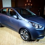 2017 Hyundai Xcent India launch front three quarter left