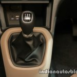 2017 Hyundai Xcent India launch gear knob