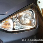 2017 Hyundai Xcent India launch headlamp