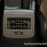 2017 Hyundai Xcent India launch rear ac vent