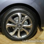 2017 Hyundai Xcent India launch rear alloy wheel