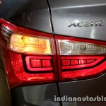 2017 Hyundai Xcent India launch rear taillamp