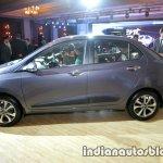 2017 Hyundai Xcent India launch side left