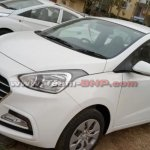 2017 Hyundai Xcent (facelift) front three quarter images surface