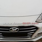2017 Hyundai Xcent (facelift) grille images surface