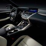 2017 Lexus NX dashboard