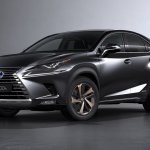 2017 Lexus NX front three quarters left side