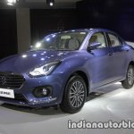 2017 Maruti Dzire (3rd gen) front three quarter left unveiled