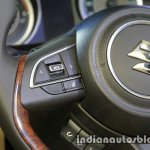 2017 Maruti Dzire (3rd gen) left spoke unveiled