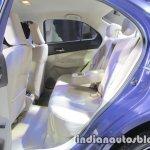 2017 Maruti Dzire (3rd gen) rear cabin unveiled