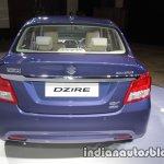 2017 Maruti Dzire (3rd gen) rear unveiled