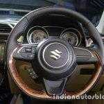 2017 Maruti Dzire (3rd gen) steering unveiled
