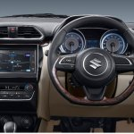 2017 Maruti Dzire interior press image