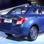 2017 Maruti Dzire rear boot revealed