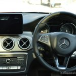 2017 Mercedes CLA (facelift) dashboard Review