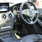 2017 Mercedes CLA (facelift) driver area Review