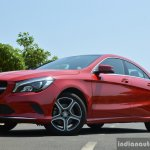 2017 Mercedes CLA (facelift) front low Review