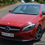2017 Mercedes CLA (facelift) front quarter close Review