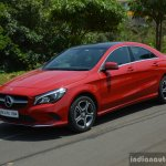 2017 Mercedes CLA (facelift) front three quarter Review