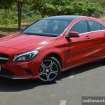 2017 Mercedes CLA (facelift) front three quarter style Review