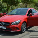 2017 Mercedes CLA (facelift) pillarless doors Review