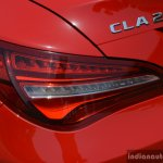 2017 Mercedes CLA (facelift) taillamp Review
