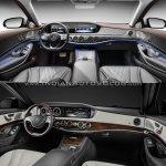 2017 Mercedes S-Class vs. 2013 Mercedes S-Class dashboard