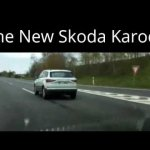 2017 Skoda Karoq rear three quarters spy shot