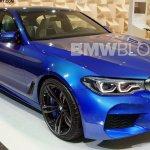 2018 BMW M5 front three quarter rendering