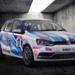 205 PS VW Ameo Cup race car front revealed