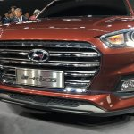 All-new Hyundai ix35 front fascia at Auto Shanghai 2017
