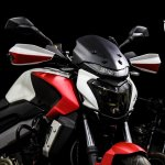 Bajaj Dominar 400 custom wrap by Dhana Stickers front and fuel tank