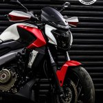 Bajaj Dominar 400 custom wrap by Dhana Stickers front