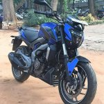 Bajaj Dominar 400 wrap by Wrapcraft front three quarter right