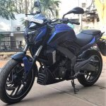 Bajaj Dominar 400 wrap by Wrapcraft front three quarter