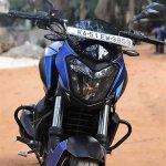 Bajaj Dominar 400 wrap by Wrapcraft front