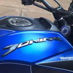 Bajaj Dominar 400 wrap by Wrapcraft fuel tank