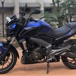 Bajaj Dominar 400 wrap by Wrapcraft side