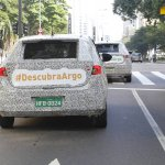 Fiat Argo (Fiat X6H) rear spy shot