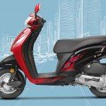 Honda Activa i BSIV studio red
