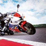 Honda CBR600RR front motion stock