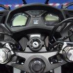 Honda CBR650F at BIMS 2017 clip-ons