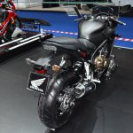 Honda CBR650F at BIMS 2017 rear three quarter