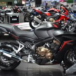 Honda CBR650F at BIMS 2017 side