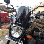 Honda Navi Goa Hunt Adventure front headlamp