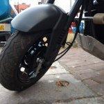 Honda Navi Goa Hunt Adventure front wheel