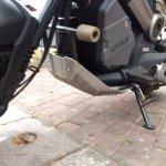 Honda Navi Goa Hunt Adventure underbelly